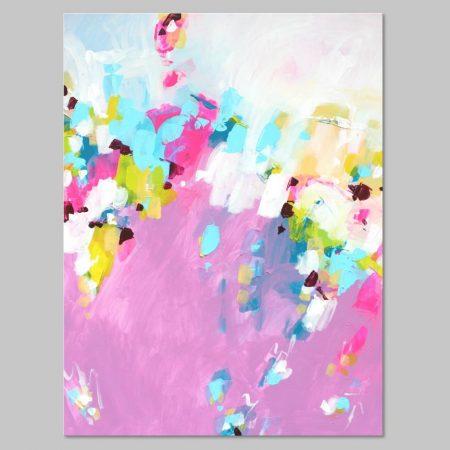 Original pink art