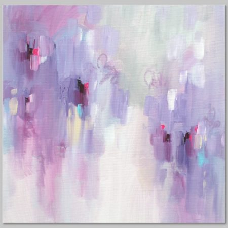 Pastel abstract art