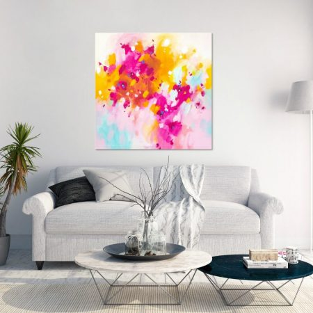 vibrant abstract art