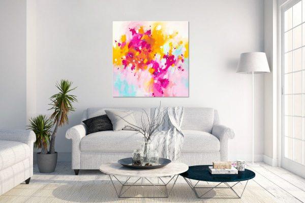 vibrant abstract art